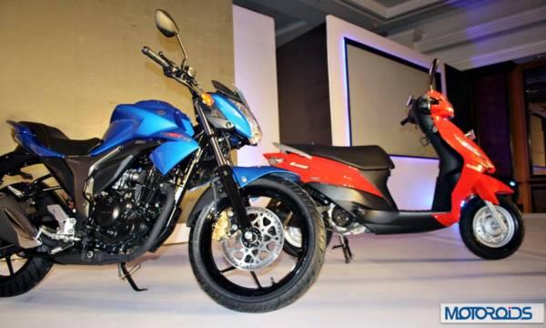 Suzuki Gixxer and Let's (1)