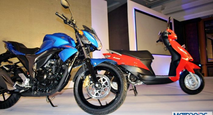 Suzuki Gixxer and Let's: Sharper Images and More Details on Launch