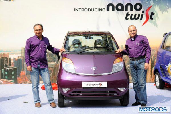 Tata Nano Twist India Launch (1)