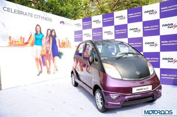 Tata Nano Twist India Launch