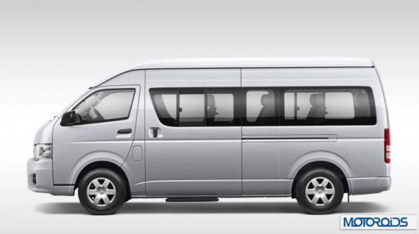 Toyota Hiace Van auto expo 20145