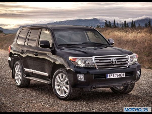 Toyota Land Cruiser 200 Auto Expo 2014