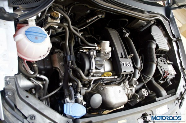 VW Vento 1.2 TSI DSG engine