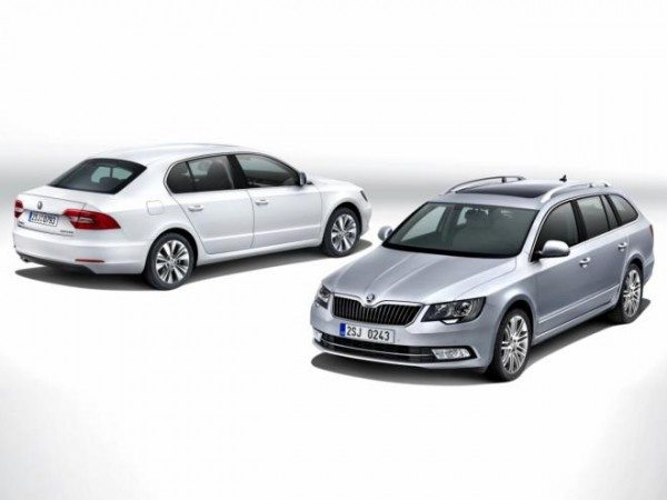 all new skoda superb