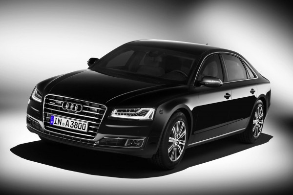 Audi A8 L Security Introduced; Meets Class VR 7 ballistic Protection Standard