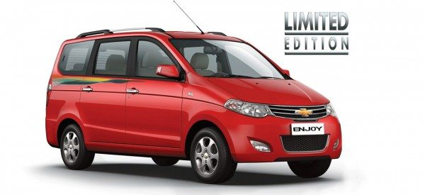 Chevrolet Enjoy Limited Edition Launched