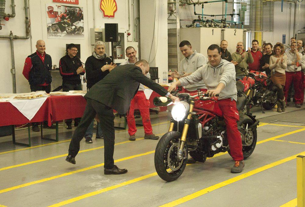 ducati monster 1200 begins production