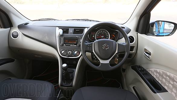 Maruti Suzuki Celerio interior image leaked!