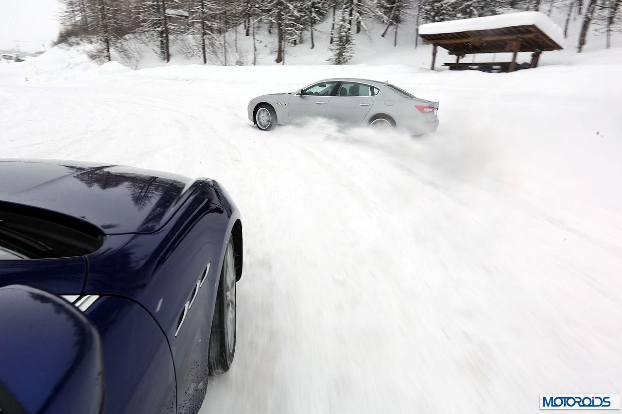 maserati Ghibli Q4 on snow (2)
