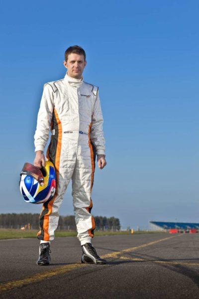 McLaren GT Managing Director, Andrew Kirkaldy