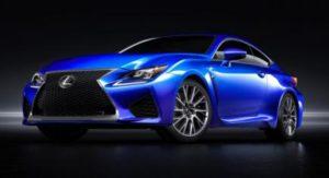 Lexus RC-F front profile