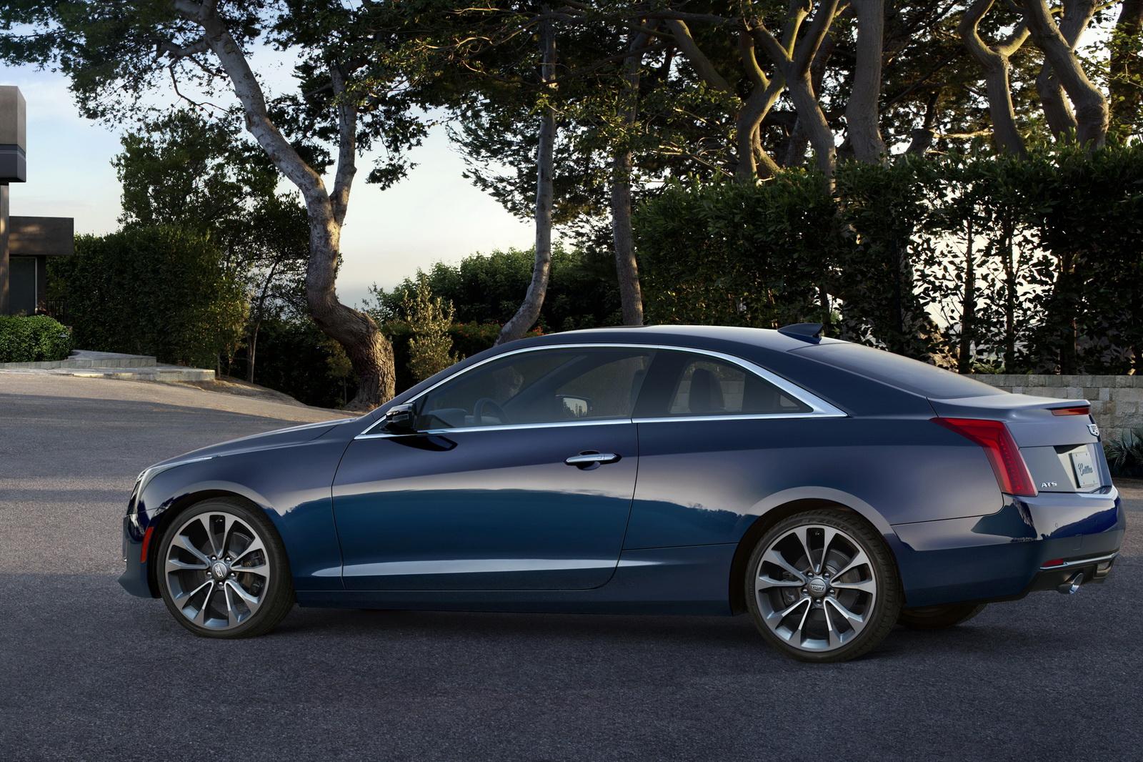 2015 Cadillac Ats Coupe Motoroids Com