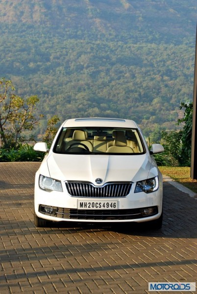new 2014 Skoda Superb facelift Interior (22)