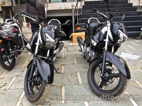 Suzuki Inazuma GW250 at dealership in India [Pics & Video]