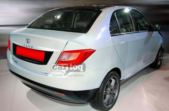 Yet another render of Tata Manza Compact Sedan (Falcon 5