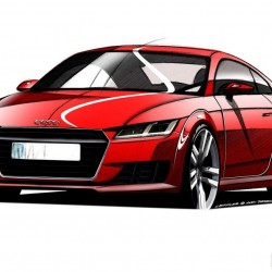 2015 Audi TT Official Sketches Revealed: Images, Specs and Details