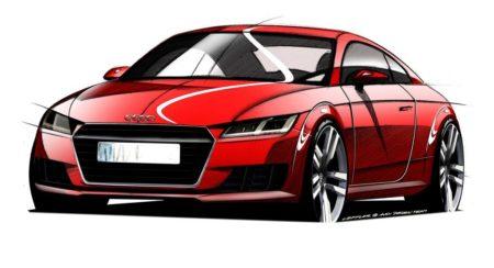 2014 Audi TT Official Sketches (3)