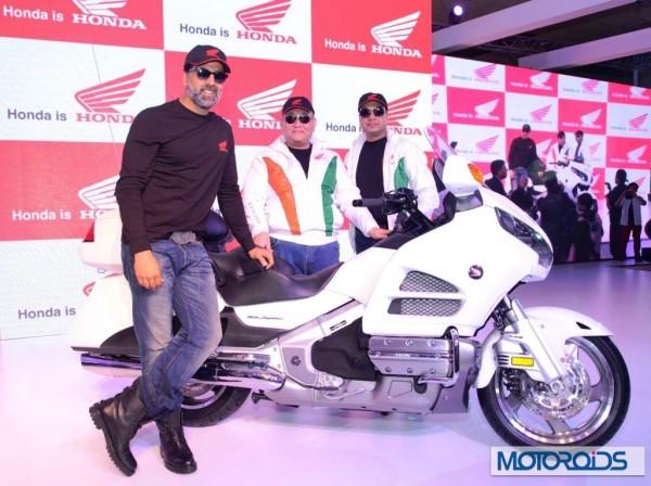 Akshay Kumar Honda Auto expo 2014