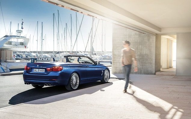 Geneva debut for BMW Alpina B4 Bi-Turbo Convertible