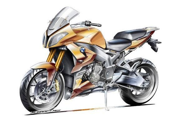 BMW S1000F 578x380 Rumour Central: BMW S1000F to rival the Ducati Multistrada