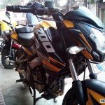 Would You Like to Get Your Pulsar 200NS Painted in This KTM Color Scheme?