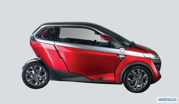 Bajaj U car Auto Expo 2014 (1)