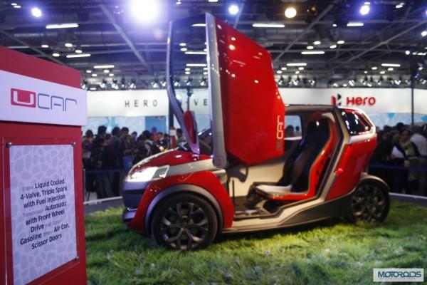 Bajaj U car Auto Expo 2014 (4)