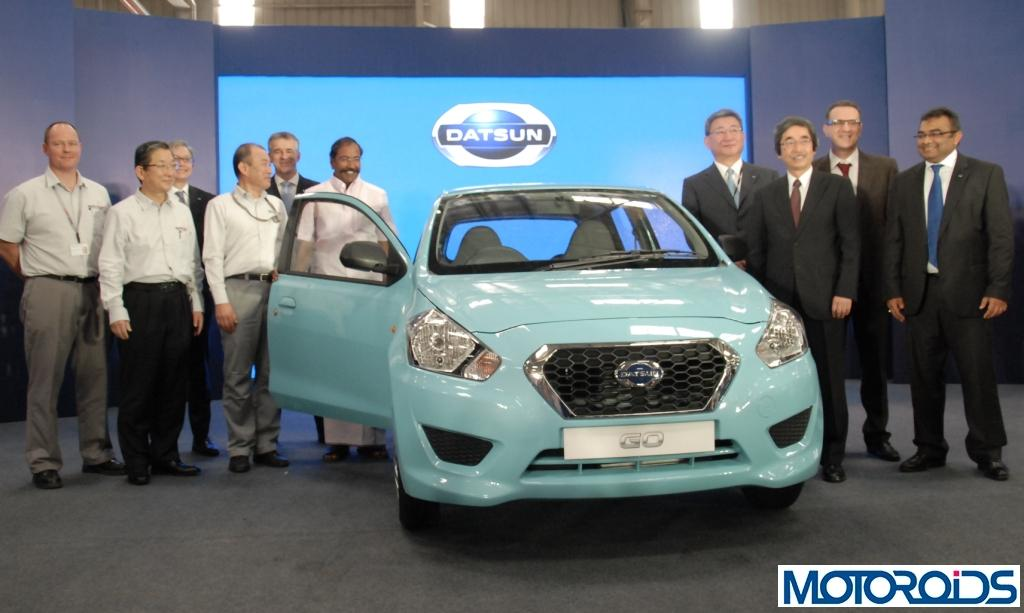 Datsun Go India Production