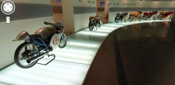 Ducati Google virtual shopwroom