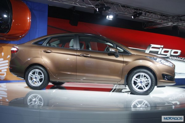 2014 forf fiesta facelift auto expo 2014