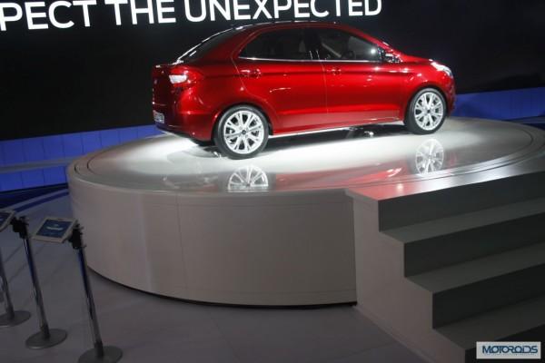 Ford Figo Concept Compact Sedan Auto Expo 2014 (15)
