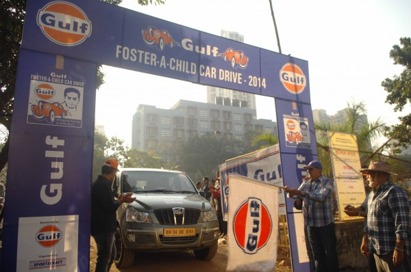 Gulf Foster A Child DRive_Flag Off