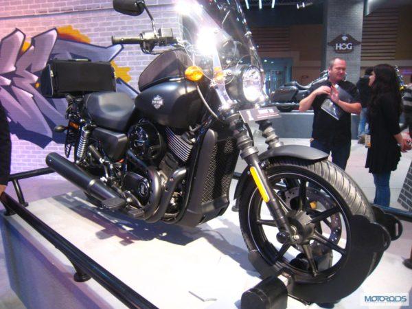 Harley davidson India Street 750 Auto Expo 2014 (13)