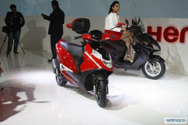 Hero Dare scooter Auto Expo 2014
