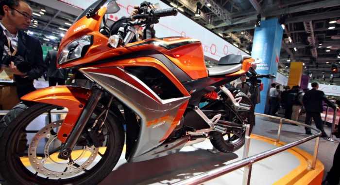 Updated: Auto Expo 2014 LIVE: Hero HX250R showcased [Images & Details]