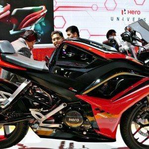Hero HX250R auto Expo 2014 (4)