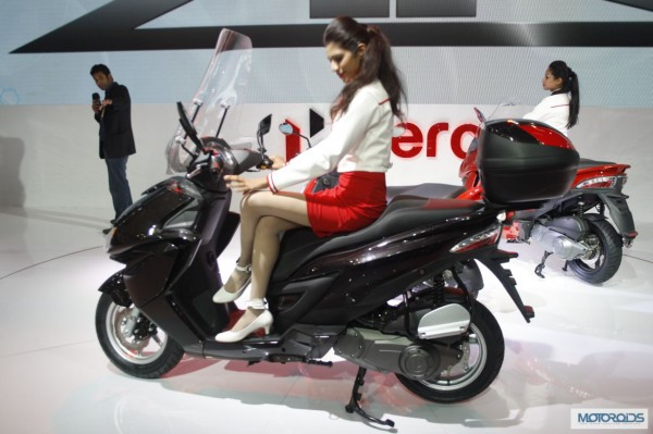 Hero Motocorp ZIR scooter Auto Expo 2014 (1)