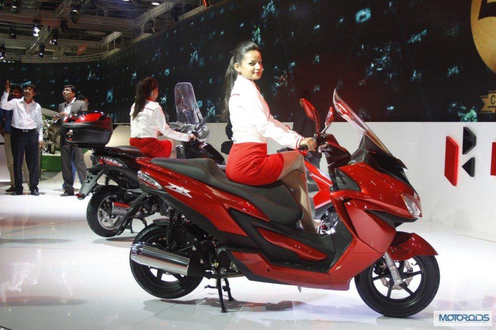 Hero Motocorp ZIR scooter Auto Expo 2014 (2)