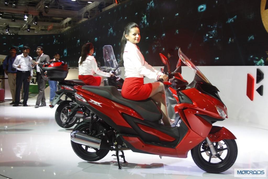 Hero Motocorp ZIR scooter Auto Expo 2014 (3)