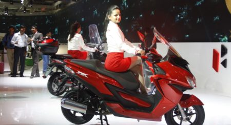 Hero Motocorp ZIR scooter Auto Expo 2014 (3)
