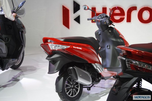 Hero Motocorp dare Scooter Auto Expo 2014 (4)
