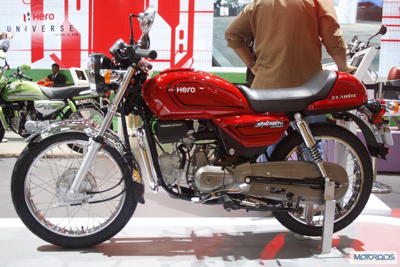 Hero bikes splendor pro 2014