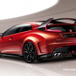 Honda Civic Type R Concept Revealed: To Debut at the 2014 Geneva Motor Show