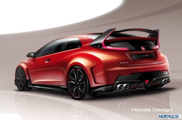 Honda Civic Type R Concept geneva Motor Show
