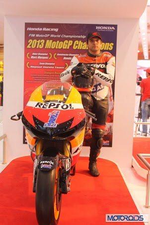 Honda RCV MotoGP motorcycle Auto Expo 2014 (1)