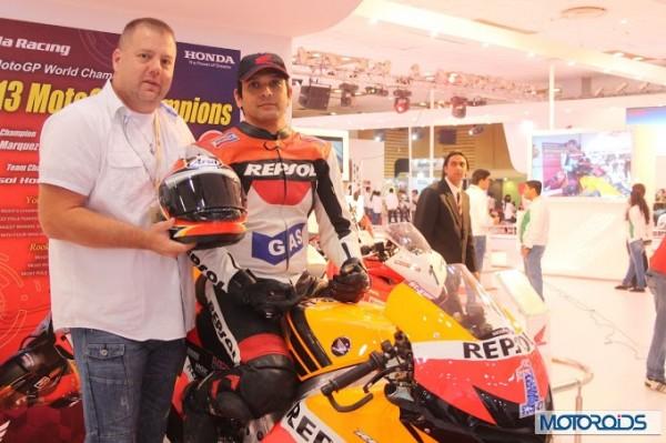 Honda RCV MotoGP motorcycle Auto Expo 2014 (10)