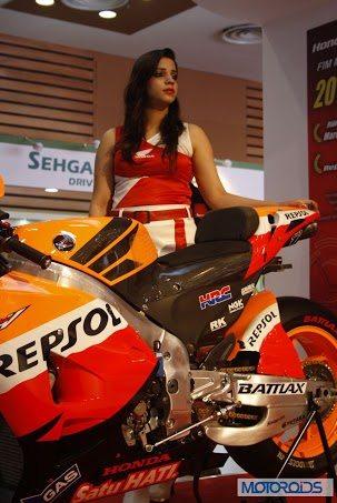 Honda RCV MotoGP motorcycle Auto Expo 2014 (2)