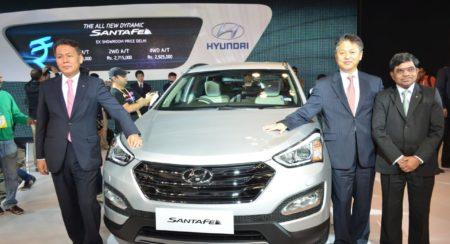 Hyundai Santa Fe Auto Expo 2014 (1)