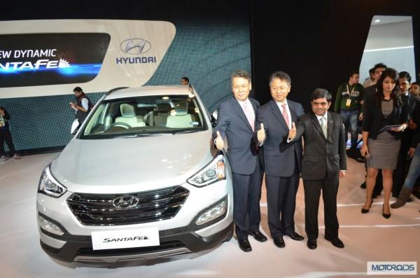 Hyundai Santa Fe Auto Expo 2014 (10)