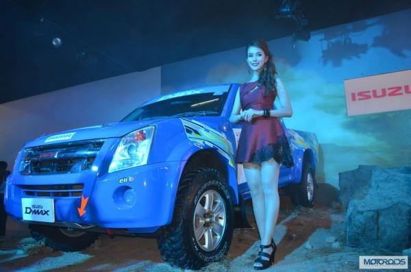 Isuzu Motors D Max Auto Expo 2014 (1)